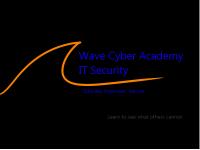 Logo of Wave Cyber Academy